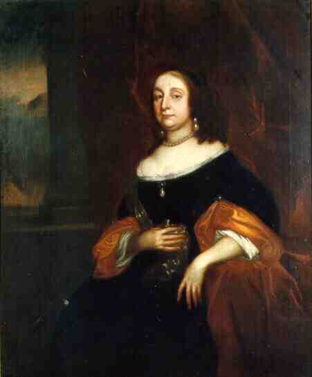 Portrait of Elizabeth Cromwell, the Protectoress, by Robert Walker, c. 1655, Oil on Canvas. thumbnail
