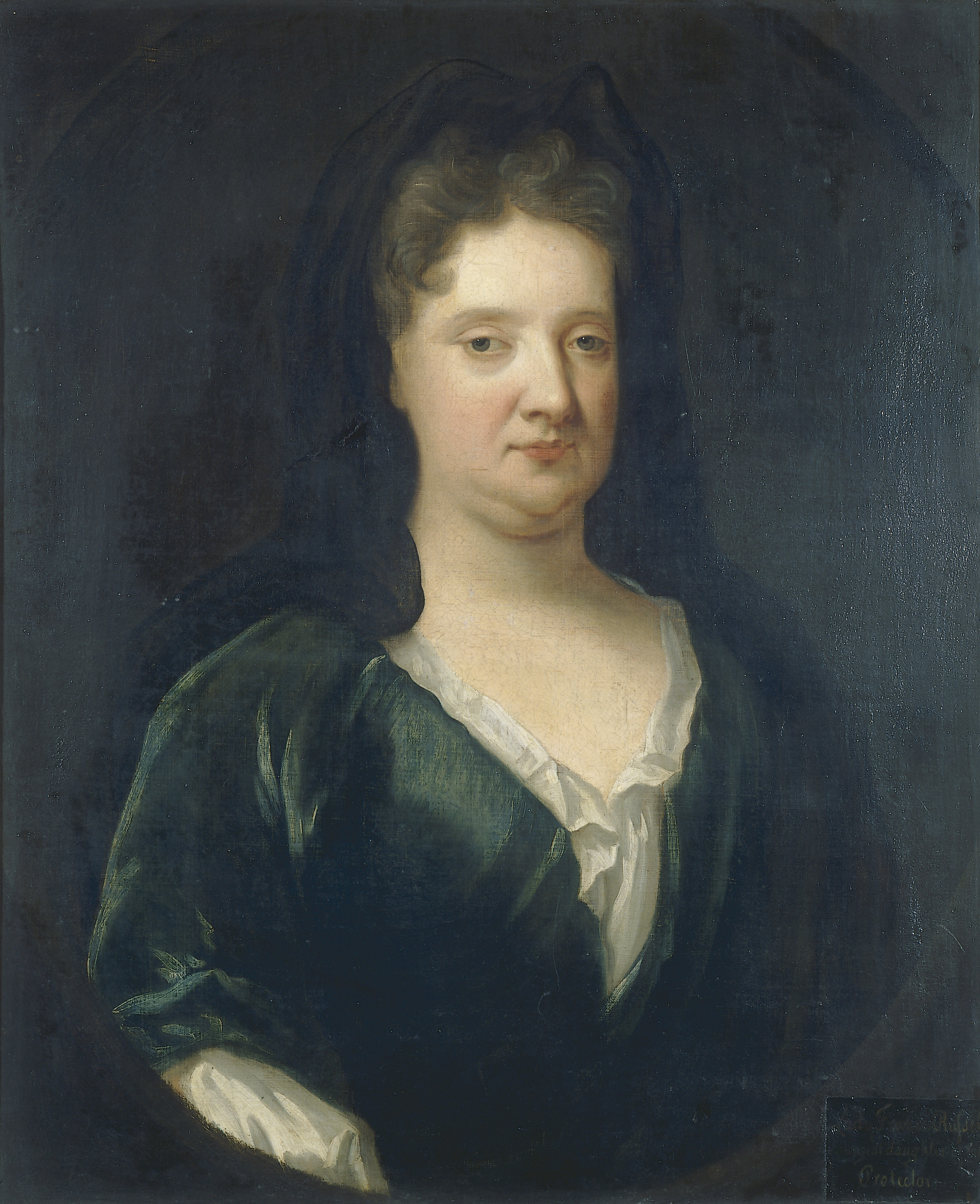 Portrait of Lady Frances Russell (Cromwell) by John Riley, c. 1670, Oil on Canvas. thumbnail