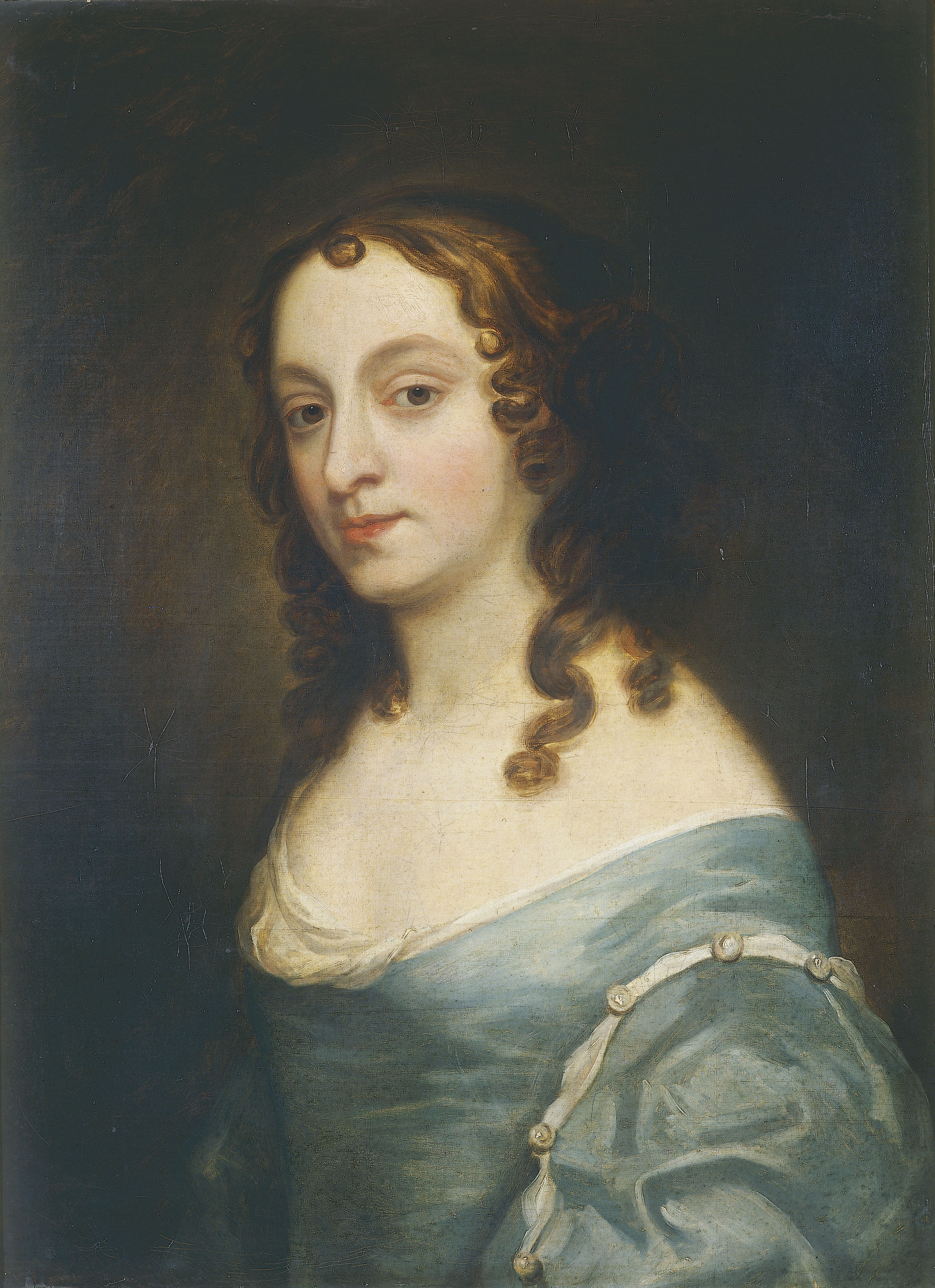 Portrait of Elizabeth Claypole (Cromwell), circle of Sir Peter Lely, c. 1655, Oil on Canvas. thumbnail