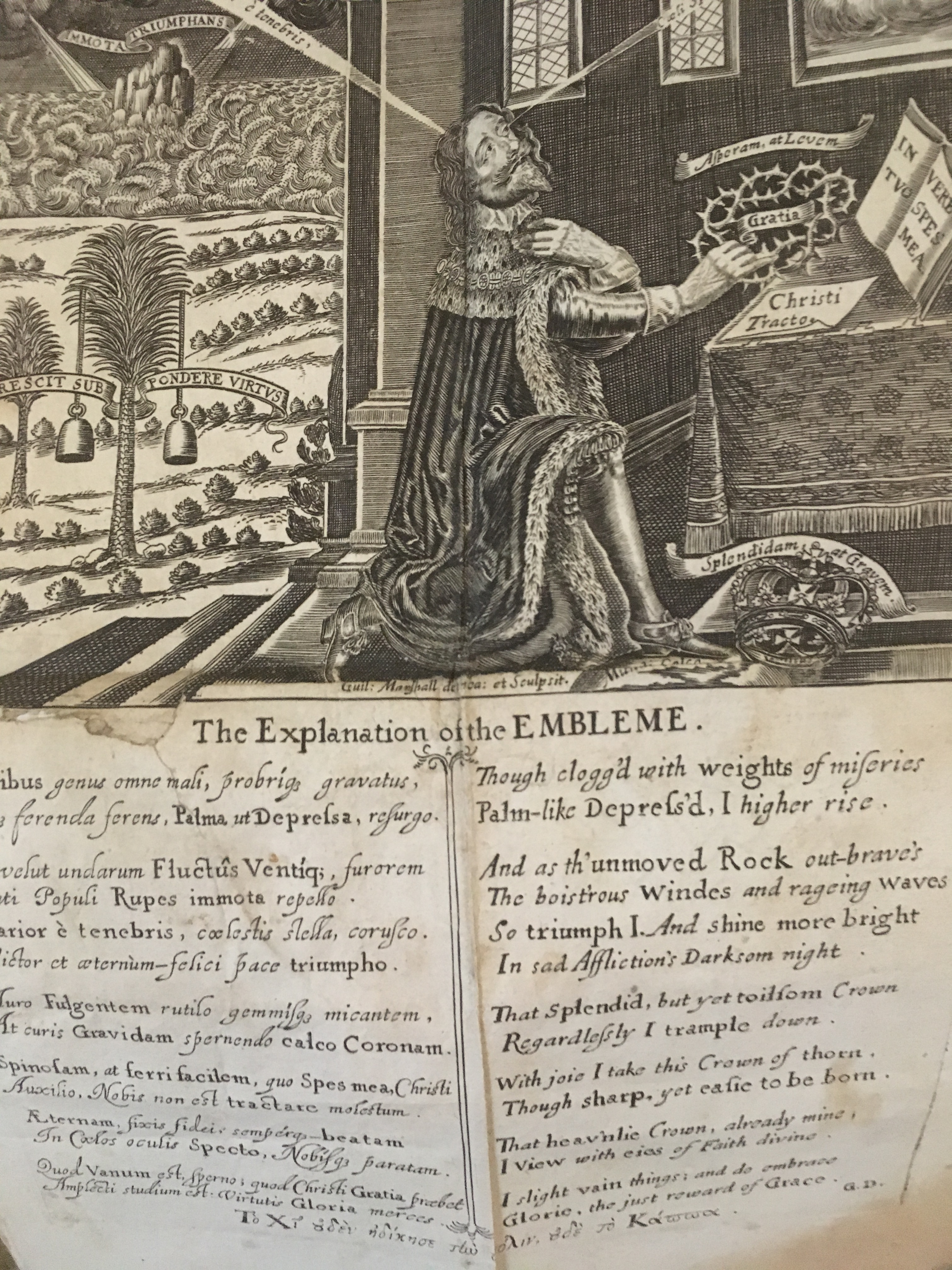 'Eikon Basilike: The Portraiture of His Sacred Majestie in His Solitude & Sufferings', 1649. thumbnail