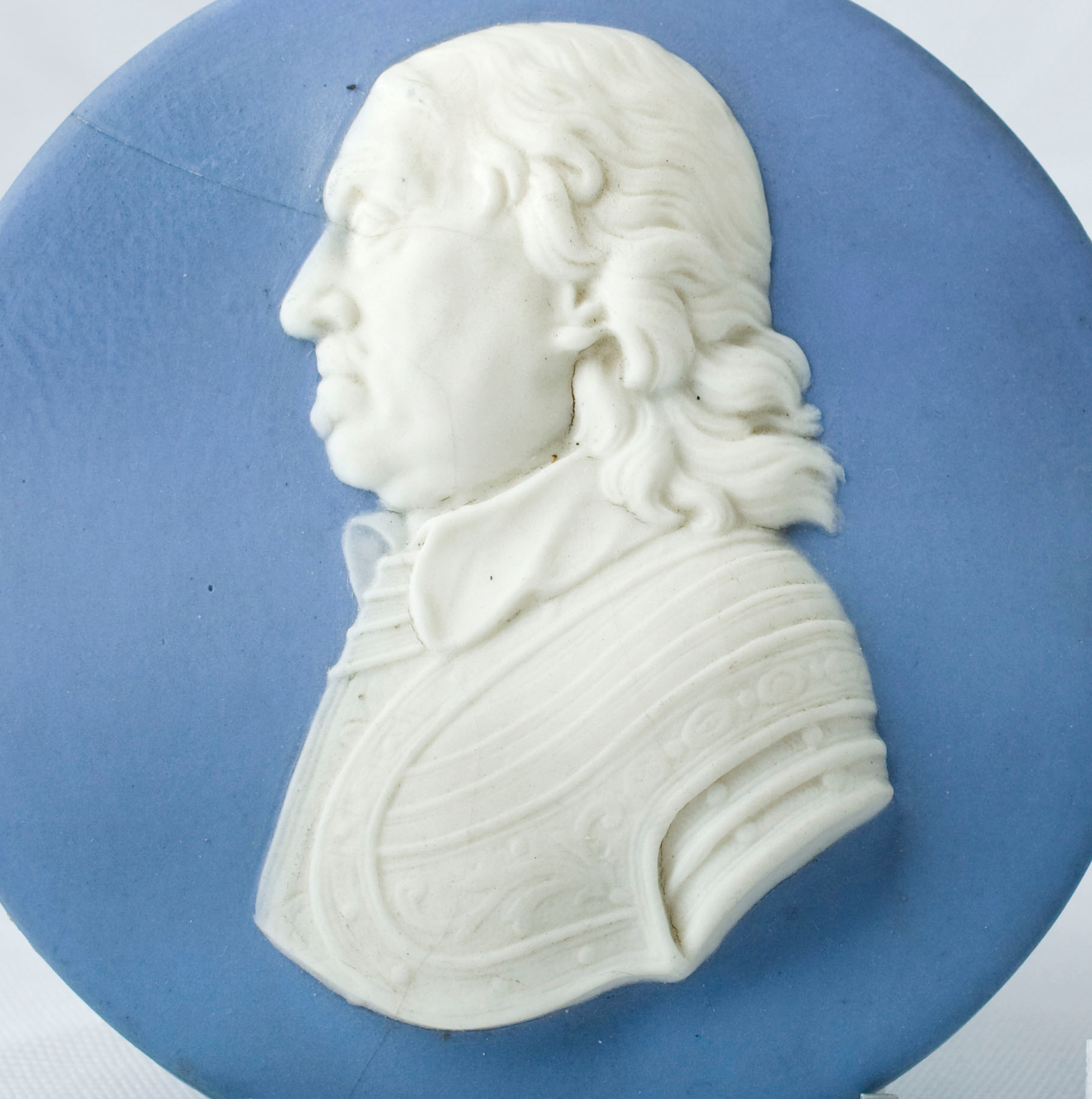Wedgewood Portrait Medallion, c. 1840. thumbnail